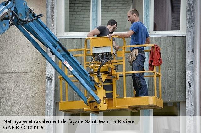 Ravalement de façade à Saint Jean La Riviere 04.82.79.53.01